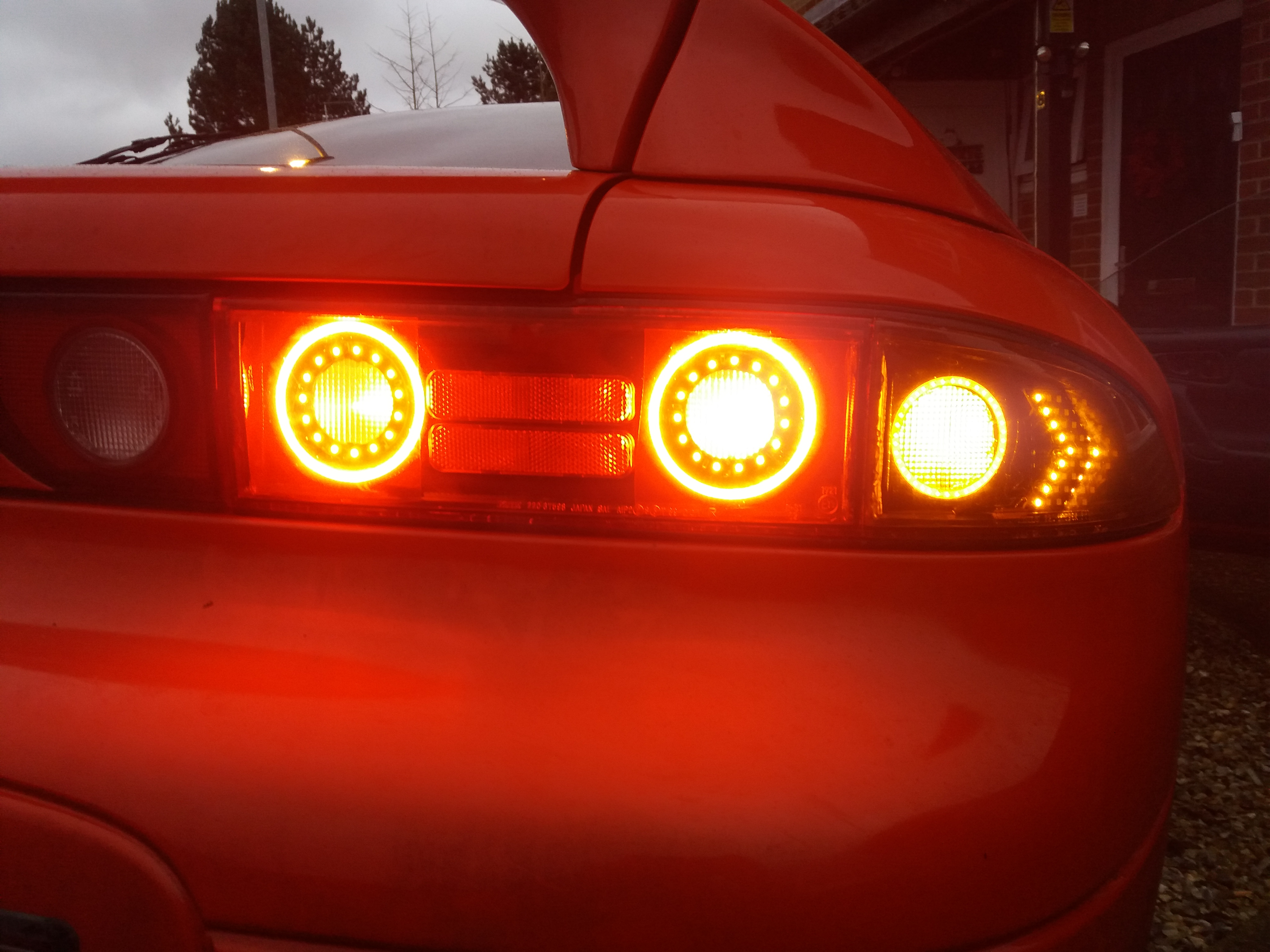 Rear lights led, halo, sequential indicators SOLD - GTO / 3000GT